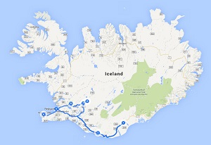 Iceland Fire and Ice Self Drive