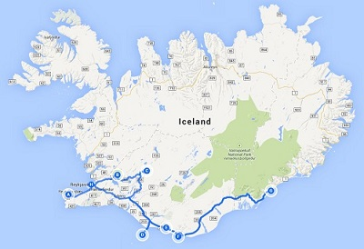 The Splendid South of Iceland