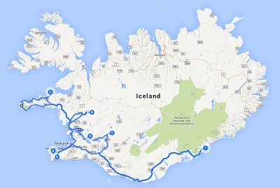 Western and Southern Iceland