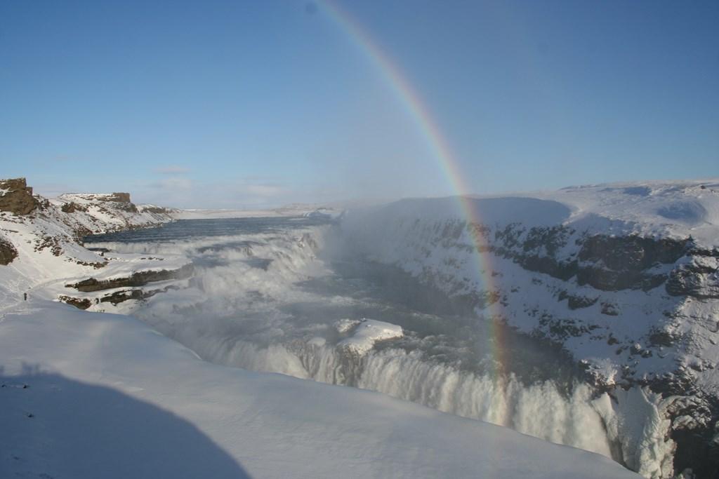 Gullfoss in Winter