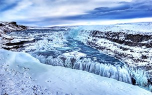 Gullfoss Winter