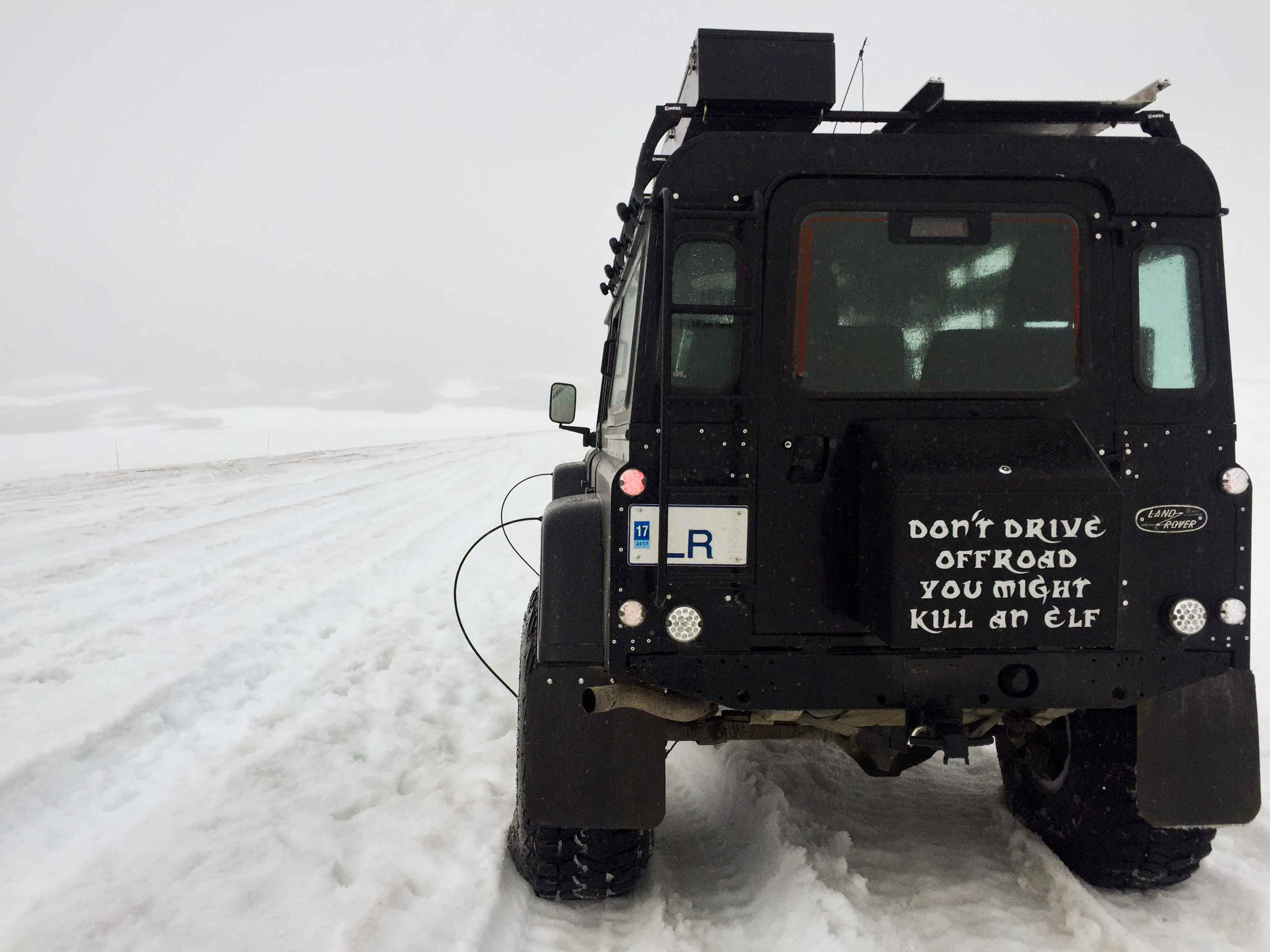 Landy on the Glacier