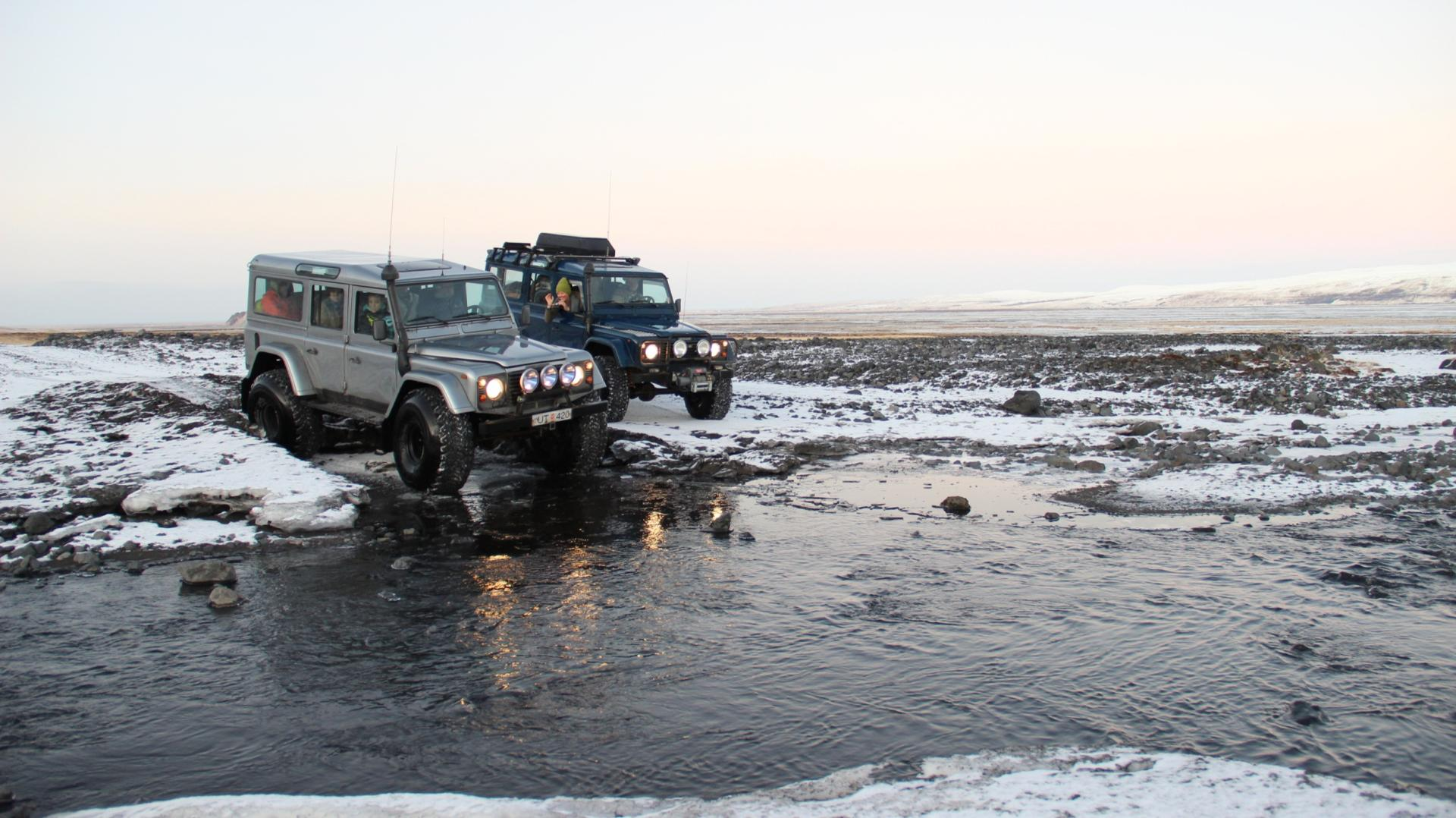 River Crossing in Winter