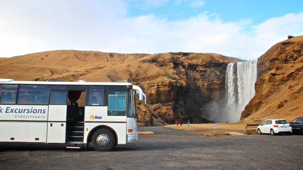 Skógafoss waterfall along the South Coast of Iceland | Icelandic Mountain Guides