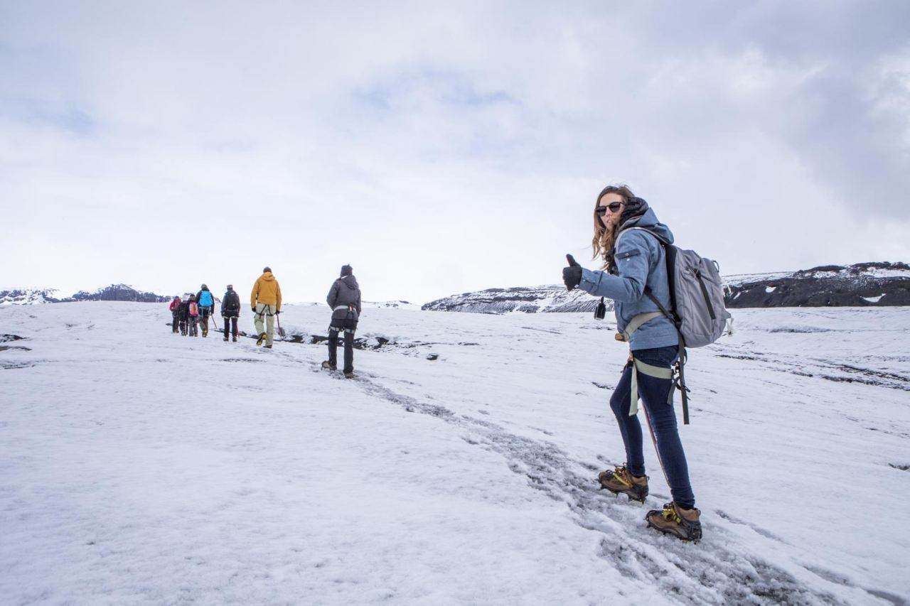 Exciting Glacier Walk on Sólheimajökull Glacier in Iceland | Icelandic Mountain Guides