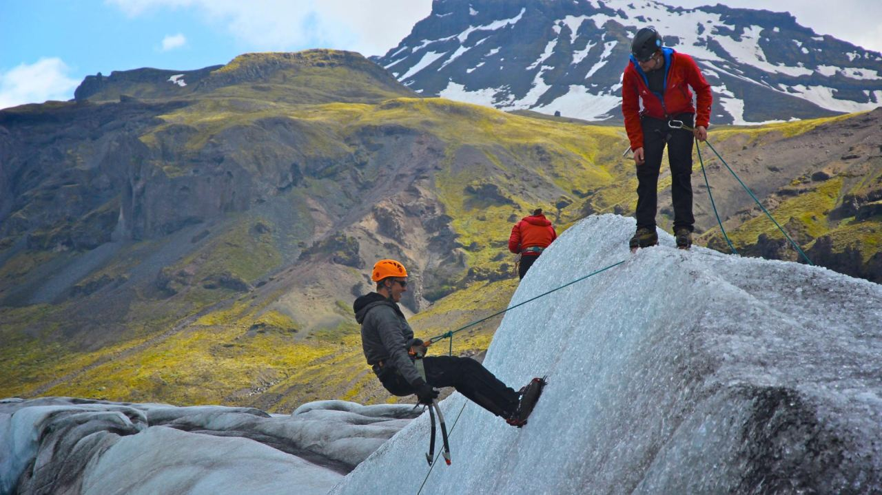 Ice Climbing @ Svínafellsjökull Glacier