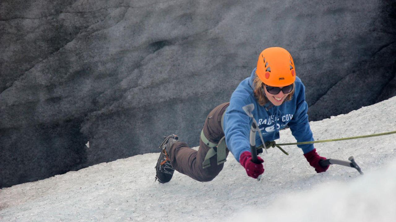 Ice Climbing Fun