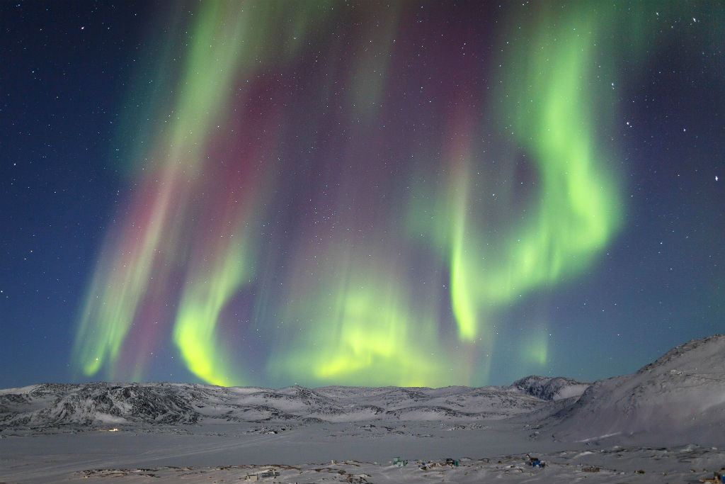 Dancing Northern Lights