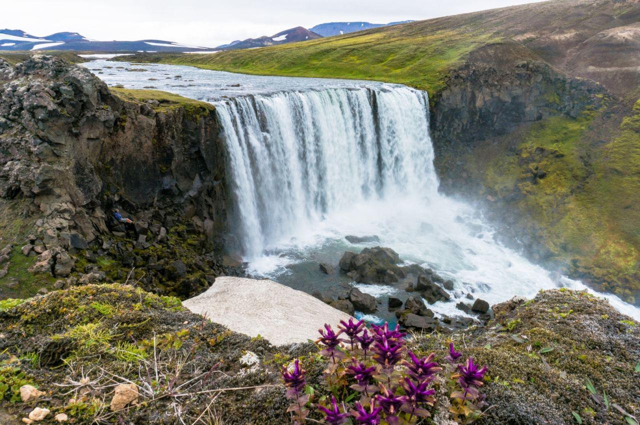 Ónefndi foss (The unnamed waterfall)