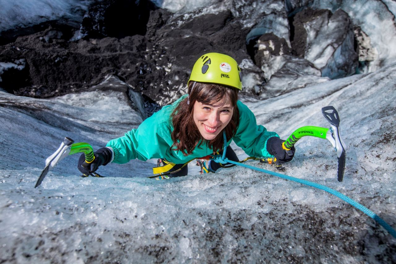 First excperience of Ice Climbing