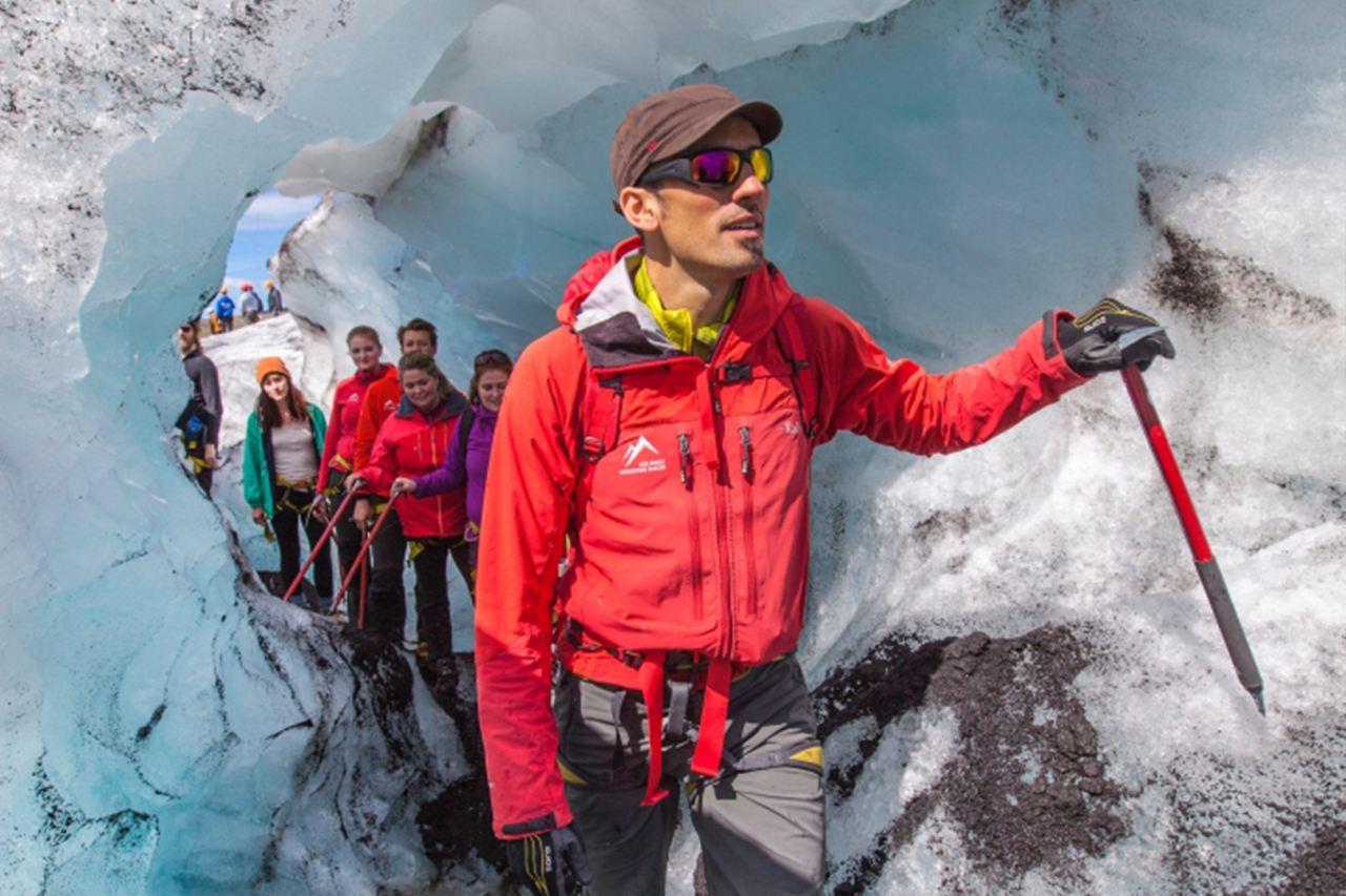 Glacier Walk on Sólheimajökull Glacier with Icelandic Mountain Guides