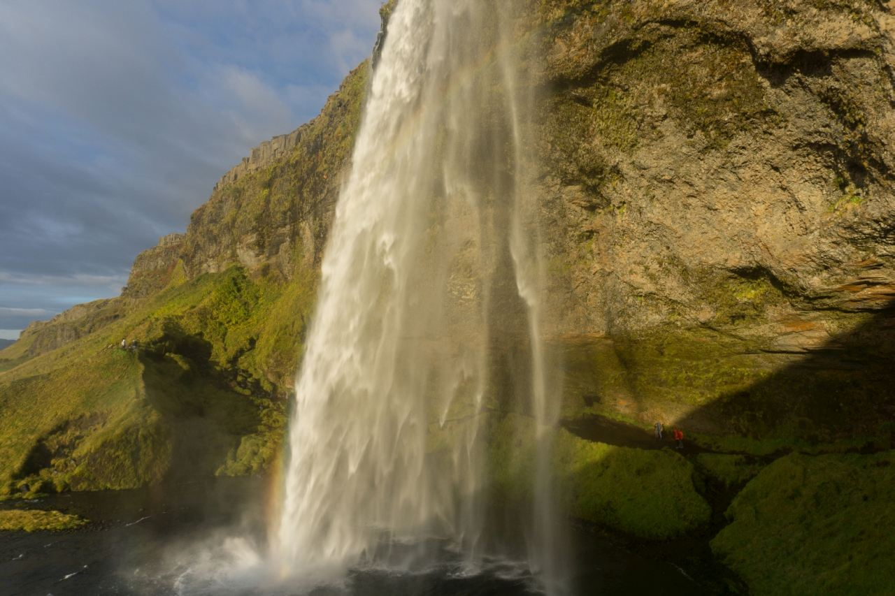 Seljalandfoss waterfall - Part of Take A Walk on the Ice Side tour | Icelandic Mountain Guides