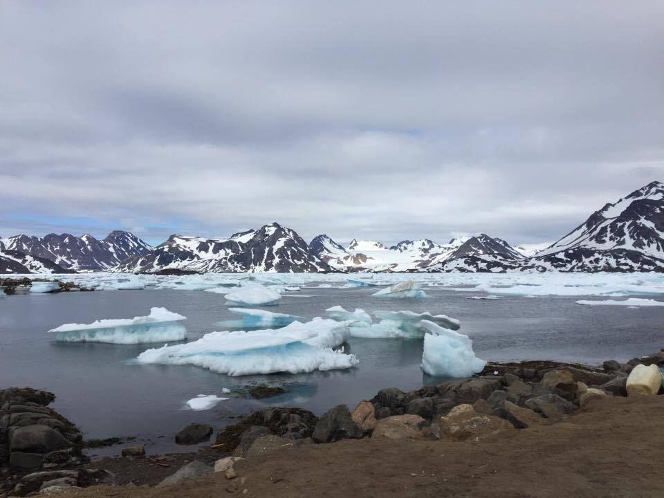 Icebergs near Kulusuk