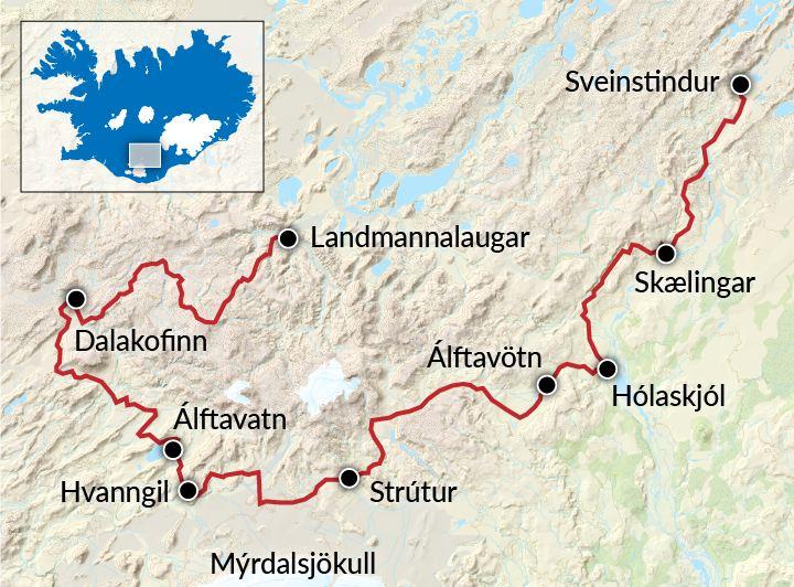 Volcanic Trails
