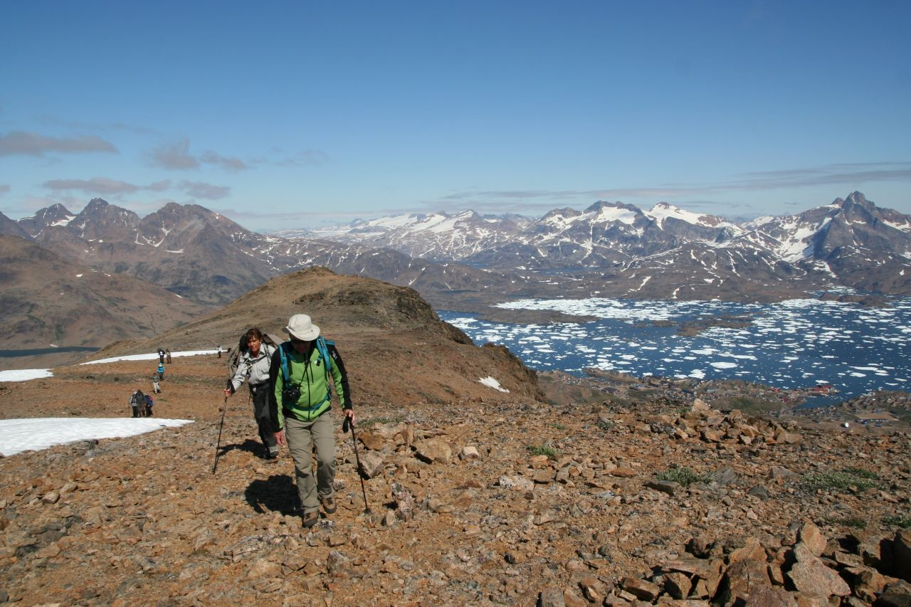 10 Day East Greenland Base Camp Hiking Tour