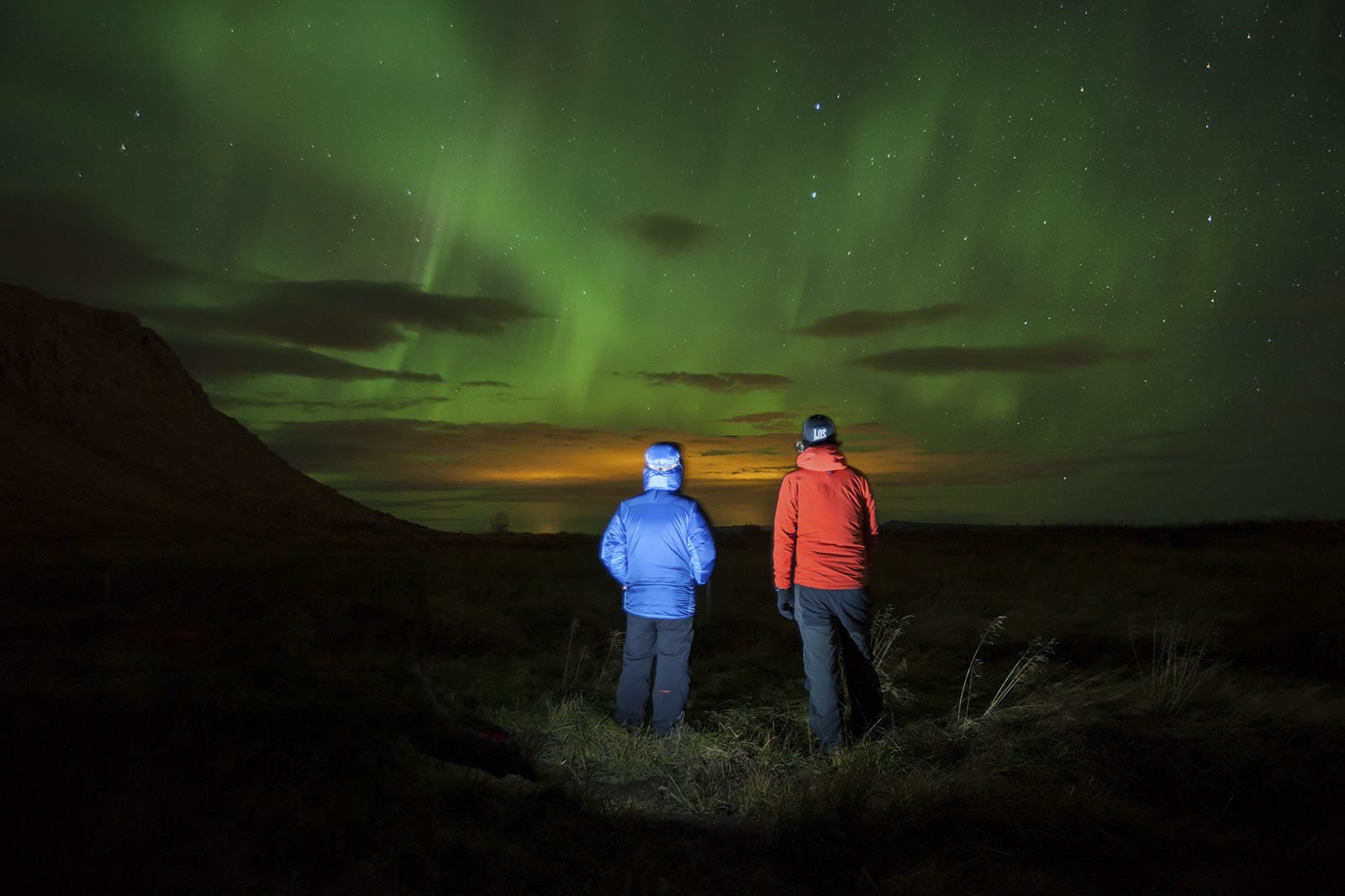 The northern ligths are magical