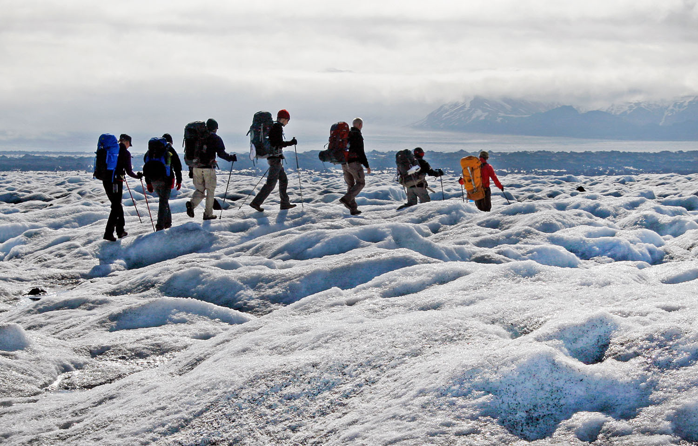 Skeiðarárjökull glacier tongue