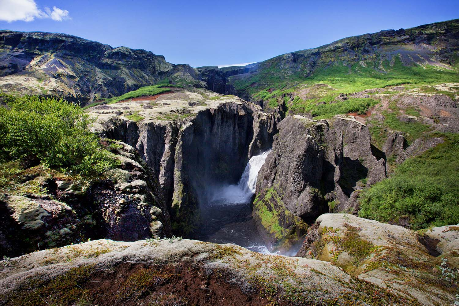 Stunning waterfalls and gorges
