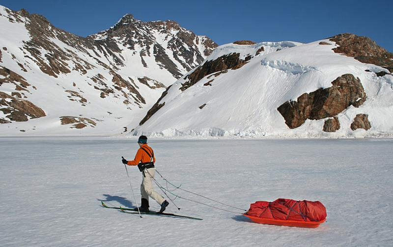 East Greenland Cross-Country Skiing Expedition
