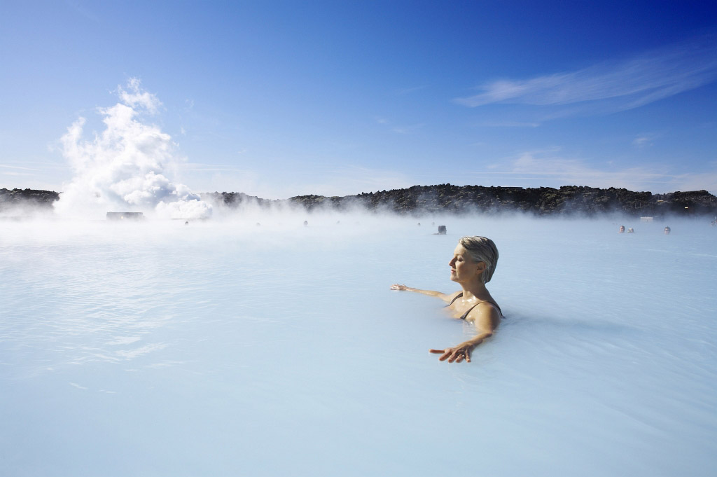 Theraputic water of the Blue Lagoon