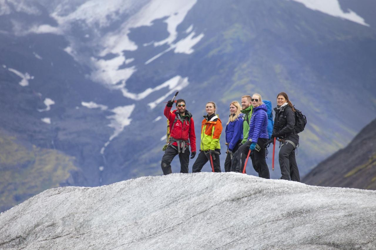 Getting to know about the glacier