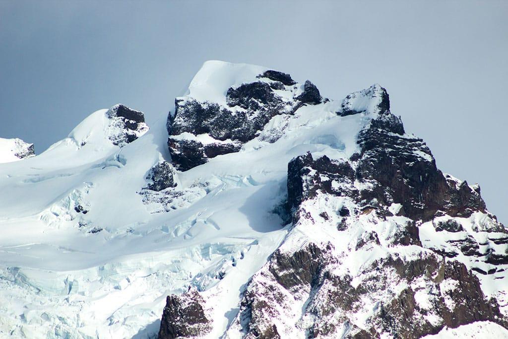 Hrútsfjallstindar peaks (1875 m)
