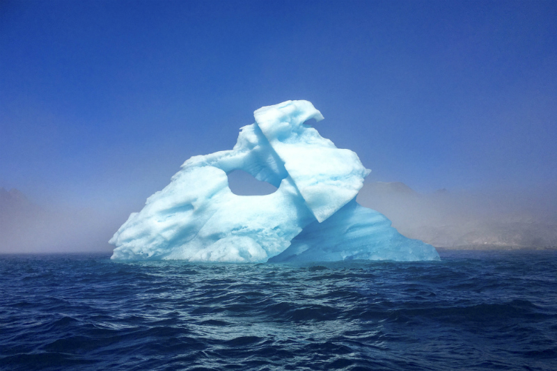 You will see Icebergs during your sailing trip in Greenland