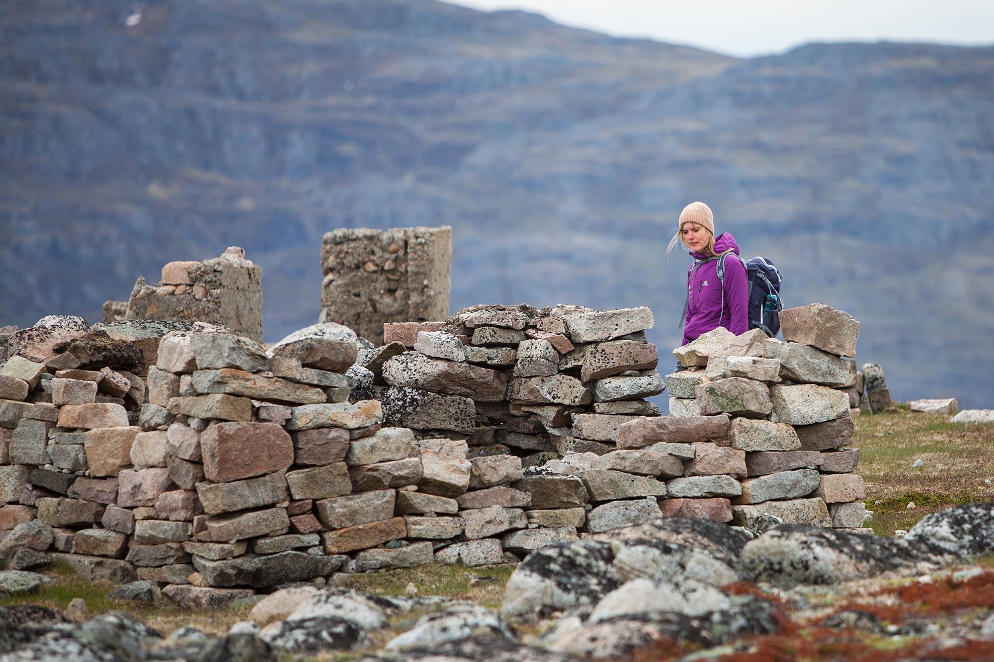 Viking ruins, Igaligu, Greenland