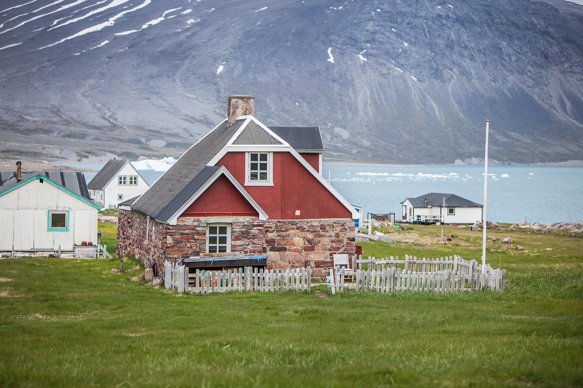 Beautiful house in Garðar Igaligu Greenland