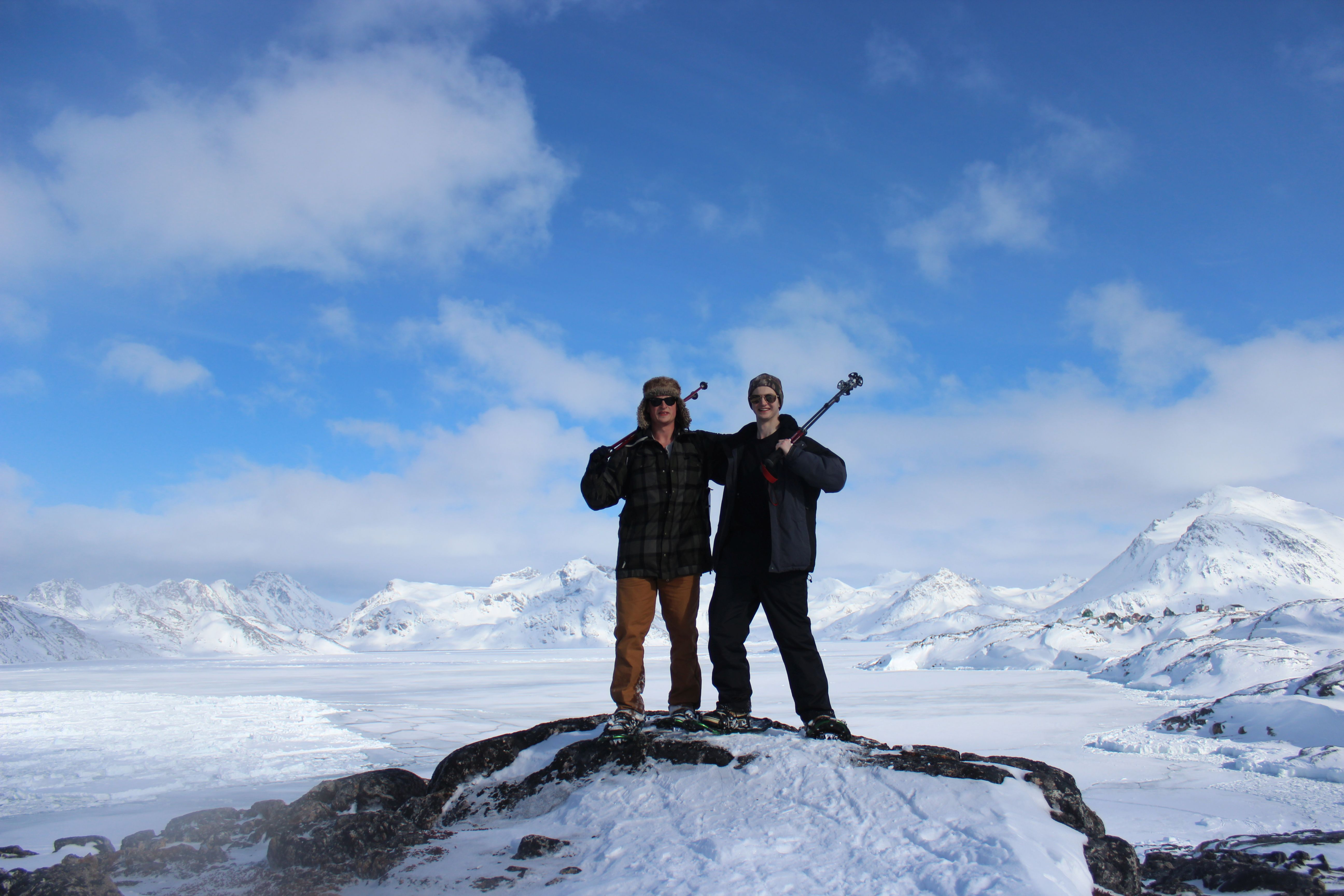 Young explorers in Greenland