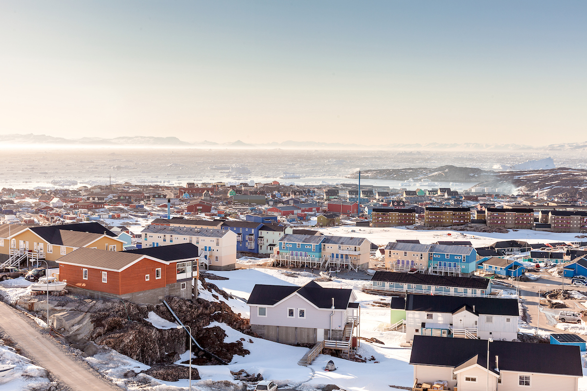 Soft Winter Light On A Crisp Day In Ilulissat