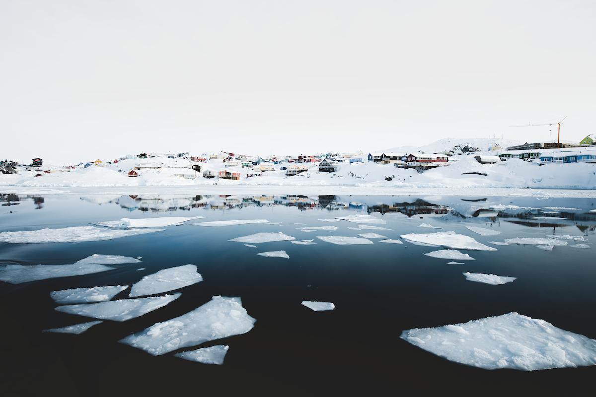 Ilulissat from sea