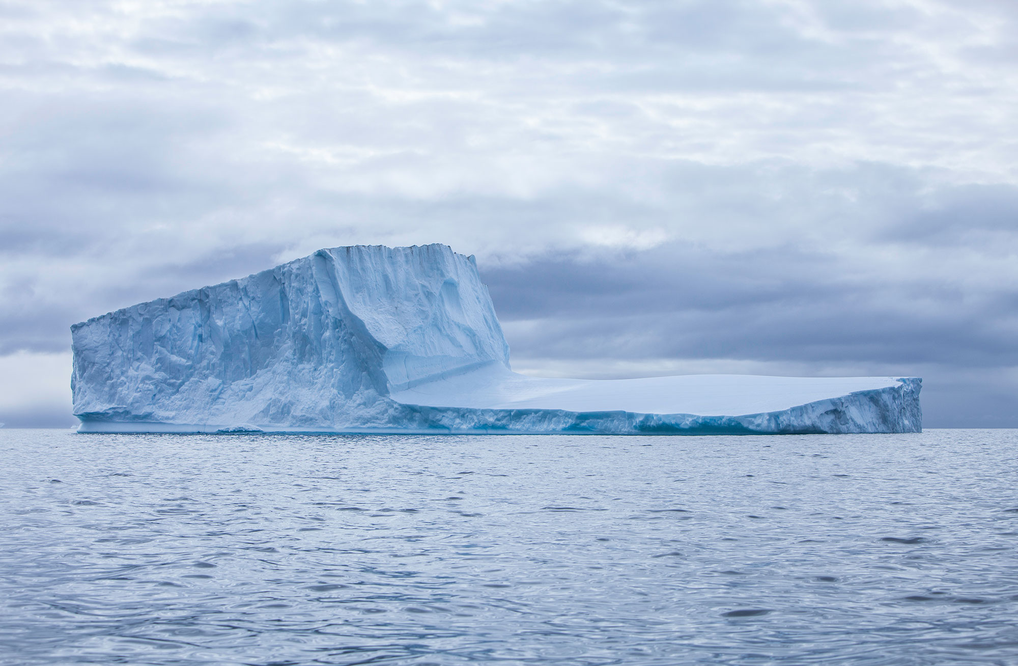 Do you remember the science about the floating Icebergs?