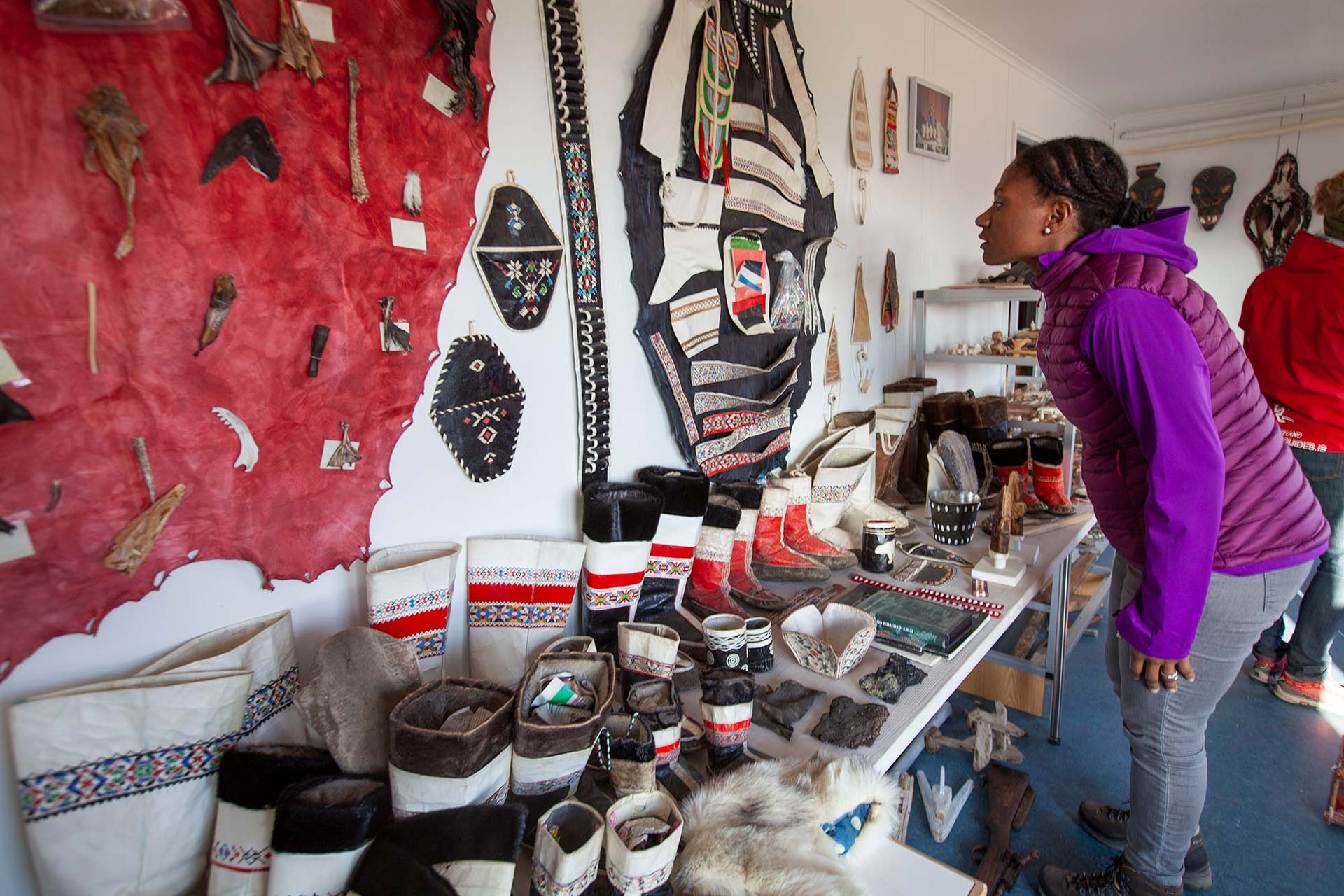 Exploring Kulusuk Museum's treasures