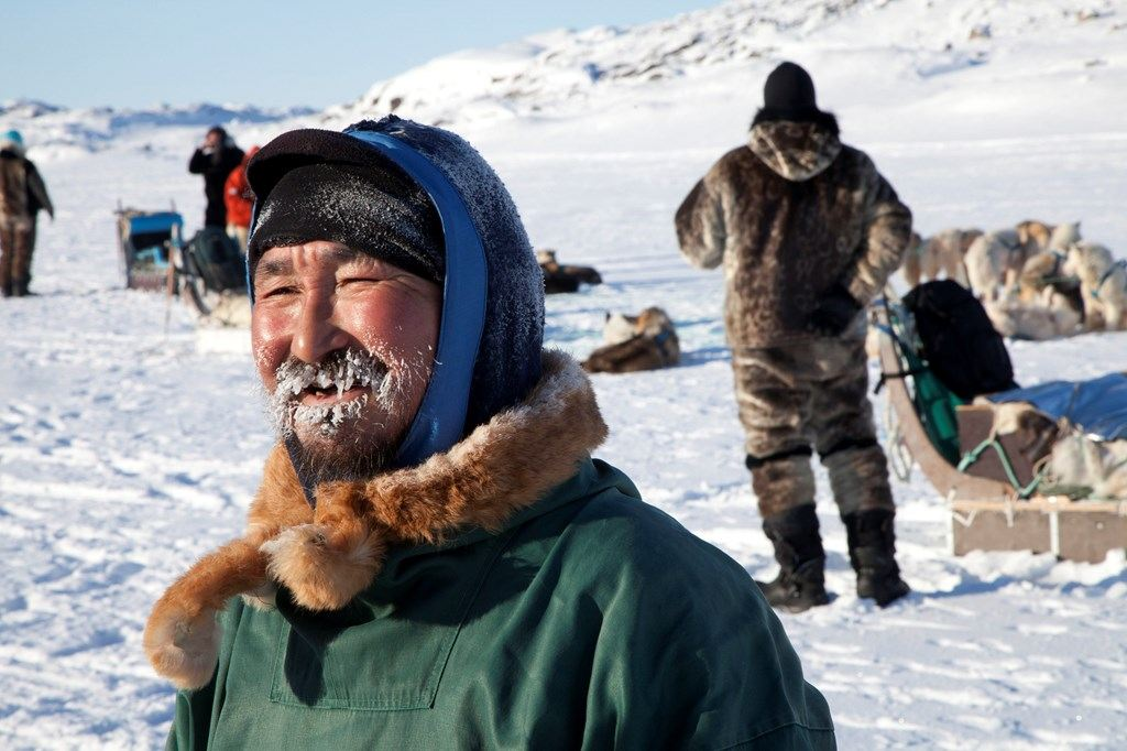 The Inuit Dog Sled Master